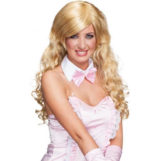 Blonde zeemeerminnen pruik