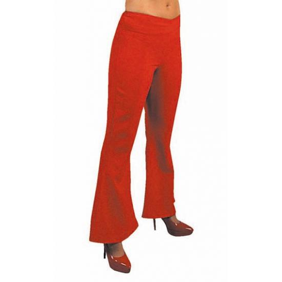 rode broek dames