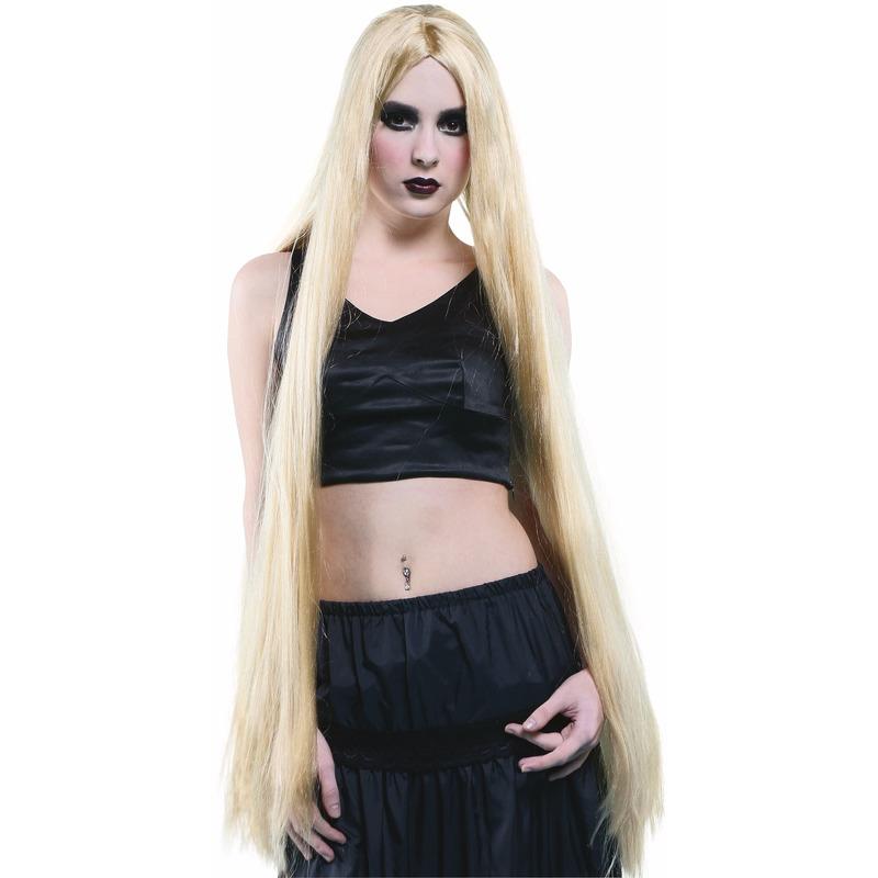 Extra Lange Dames Pruik Blond