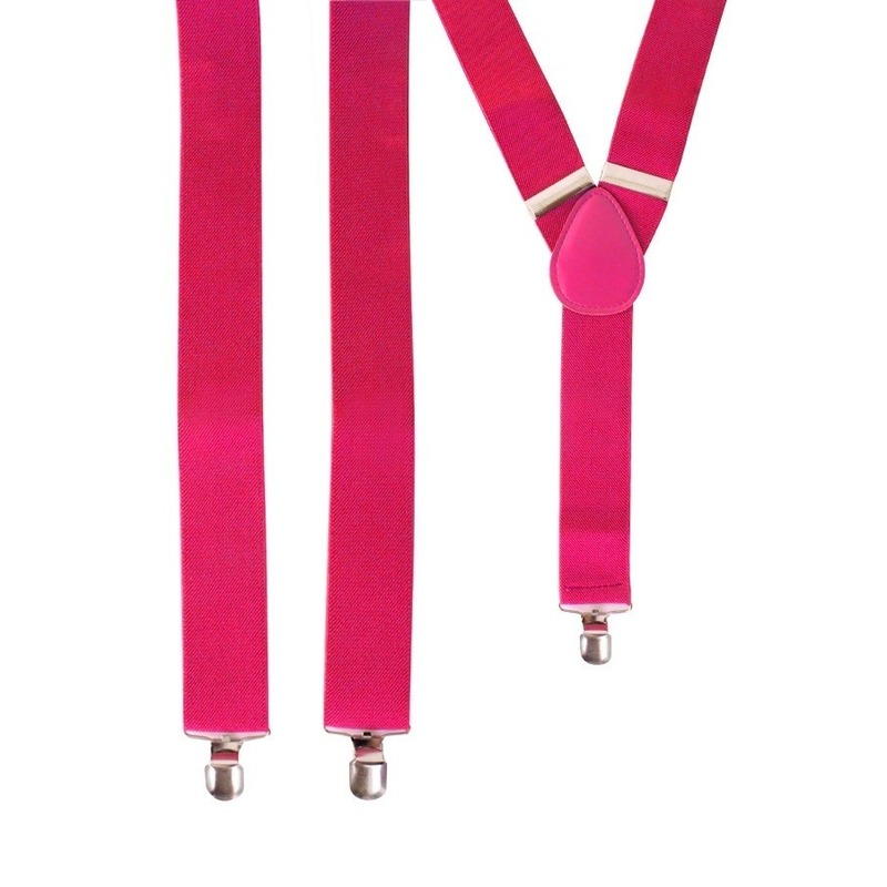 Fel roze bretels