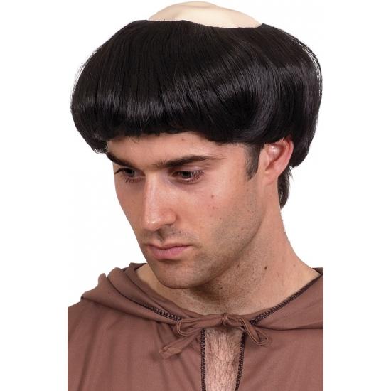 Monnikken priester verkleed pruiken