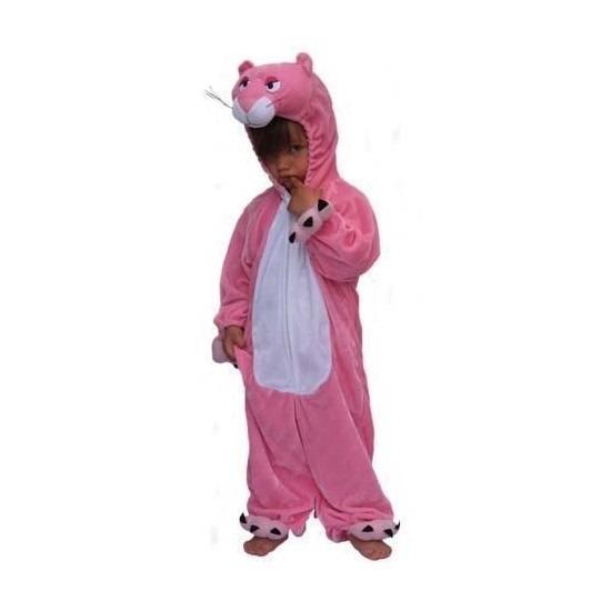 Roze panter dierenpak kostuum kinderen