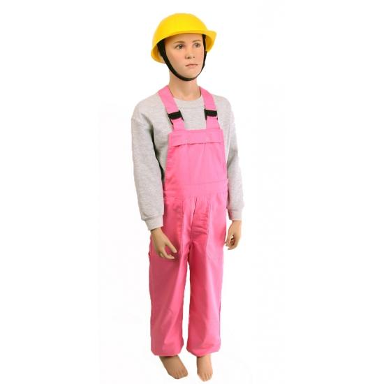 Roze tuinbroek voor kinderen
