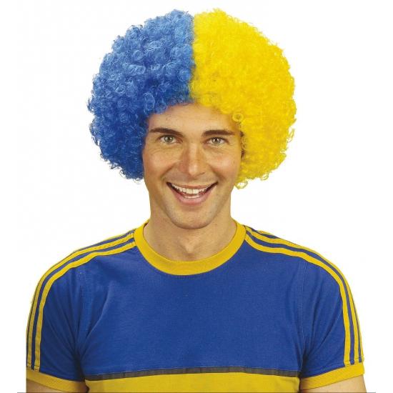 Supporters pruik Zweden