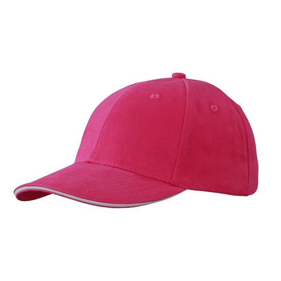 Voordelige hard roze baseball cap